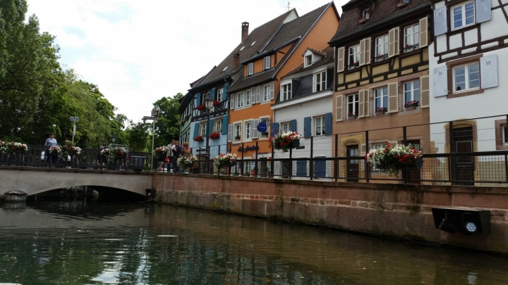 boat ride in colmar alsace france
