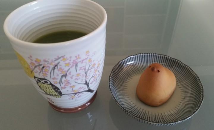 Matcha Maiden green tea with Japanese wagashi