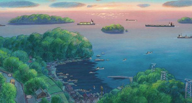 tomonoura hayao miyazaki ponyo