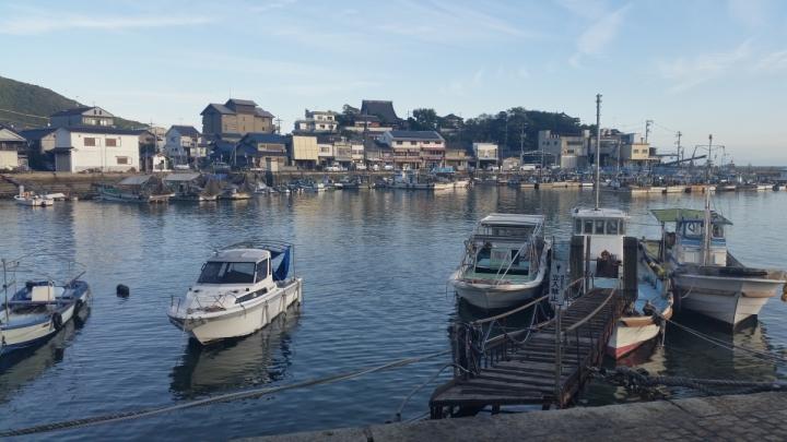 Tomonoura port pier travel japan