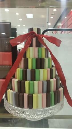 KitKat display at KitKat premium chocolatory store in seibu ikebukuro tokyo