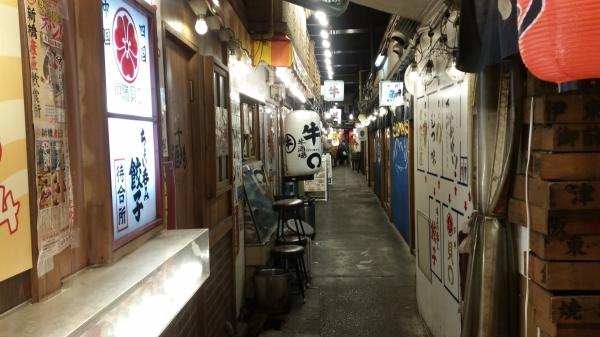 yokocho alley yurakucho tokyo