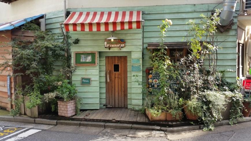 Cafe Hattifnatt in Kichijoji Tokyo