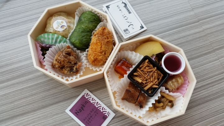 ekiben train station bento from matsumoto nagoya japan