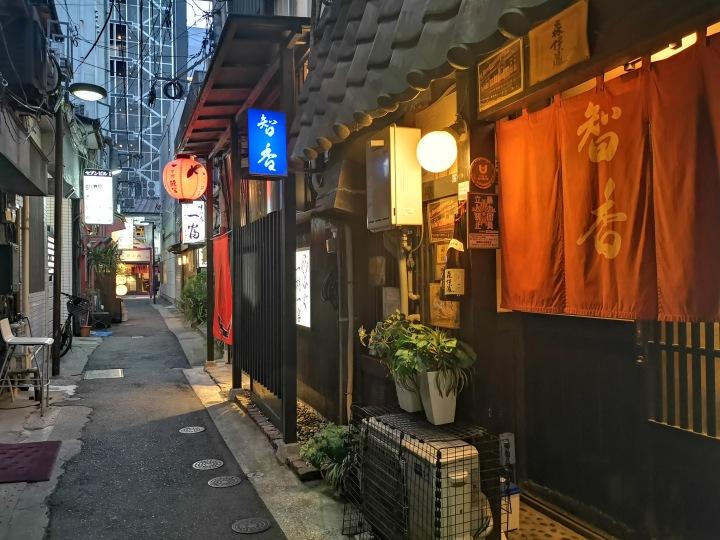 Alleyway in Fukuoka Japan