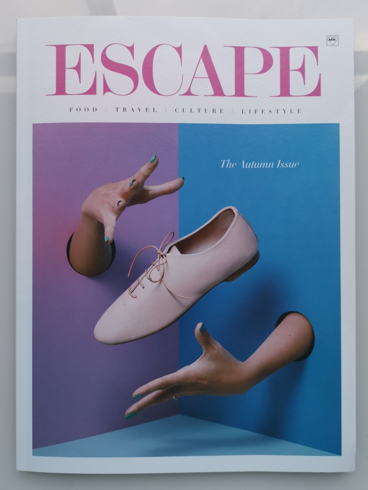 Escape magazine cover