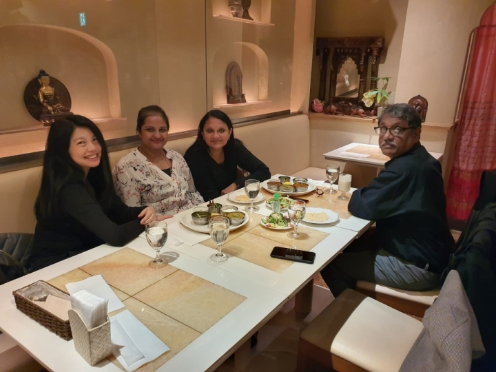 Nataraj indian restaurant Ginza Tokyo